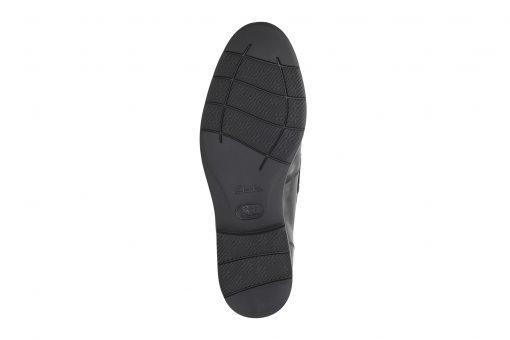 Banbury Step - Black Leather