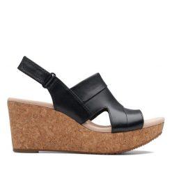 Annadel Ivory - Black Leather