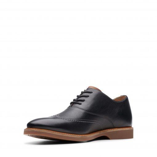 Atticus Vibe - Black Leather