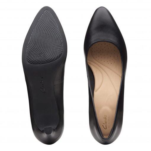 Calla Rose - Black Leather