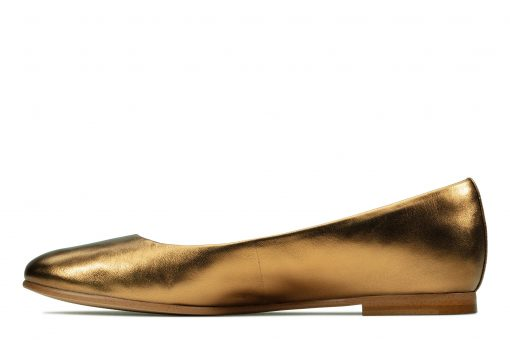 Grace Piper - Bronze Metallic Leather