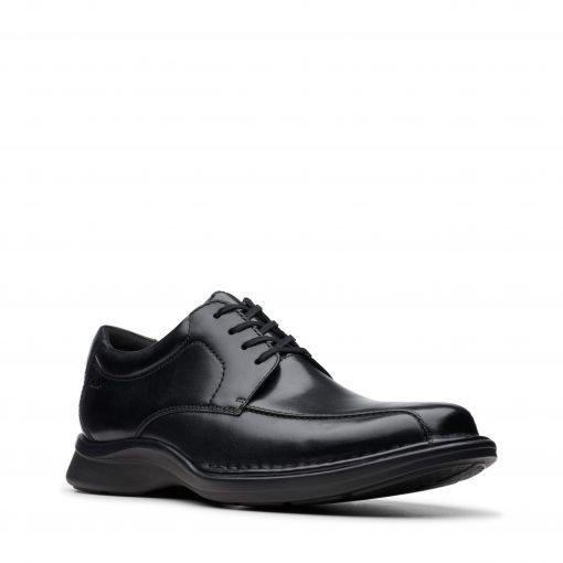 Kempton Run - Black Leather