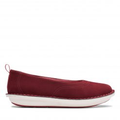 Step Weltease. - Maroon Textile