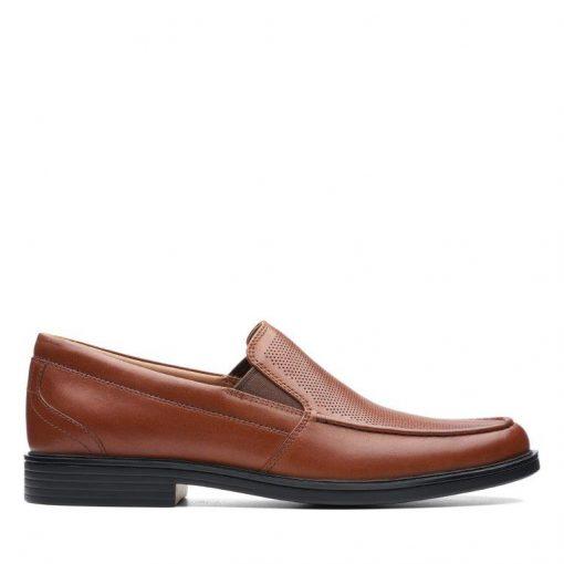 Un Aldric Slip - Brown Leather