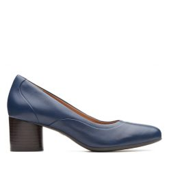 Un Cosmo Step - Navy Leather
